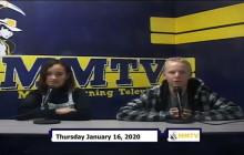 Miner Morning TV, 1-16-20