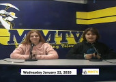 Miner Morning TV, 1-22-20
