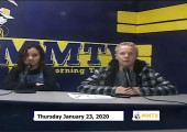 Miner Morning TV, 1-23-20