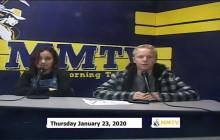 Miner Morning TV, 1-23-20