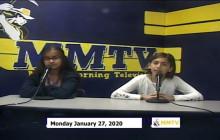 Miner Morning TV, 01-27-20