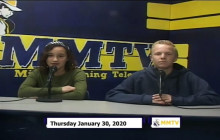 Miner Morning TV, 1-30-20