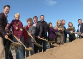 Vista Canyon Bus Transfer Station Groundbreaking