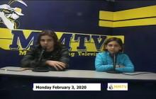Miner Morning TV, 2-3-20