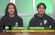 Canyon News Network | March 3, 2020