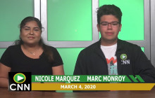 Canyon News Network   March 4, 2020