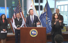 Newsom Calls on Bars to Close; Social Distancing at Restaurants