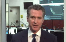 California Governor Gavin Newsom Message to Front Line Employees