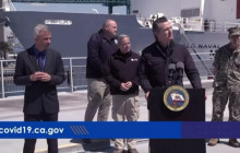 Gavin Newsom & Eric Garcetti COVID-19 Update: USNS Mercy Arrives in Port of LA  3/27/2020