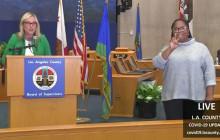 L.A. County Coronavirus Update 3/23/2020