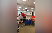 Red Cross Holds Blood Drive in Henry Mayo Newhall Hospital