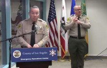 Sheriff Provides Bilingual Update; Addresses Statement Regarding Gun Stores 3/25/2020