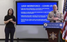 Sheriff Provides Bilingual Update; 191 Inmates in Quarantine, 1 Inmate Positive for COVID-19  3/30/2020