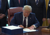 President Trump H.R. 748 Signing Ceremony