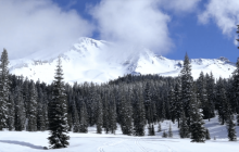 Snow Moment: Mount Shasta