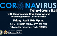 Coronavirus Tele-town Hall Hosted by Christy Smith: 4/17/2020