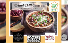 May 4: Virtual Chili Cook-out Interview with Laina McFarren