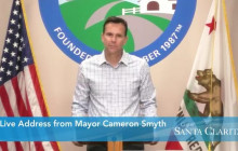 Santa Clarita Mayor Cameron Smyth COVID-19 Update: COVID-19 Death of City Bus Driver 4/2/2020