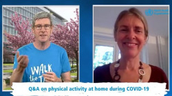 WHO Q&A on Physical Activity While Staying at Home Due to COVID-19