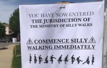 Local Family Brings Silly Walks to Santa Clarita