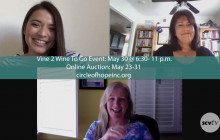 Interview with Laura Kirchhoff & Eve Bushman, Circle of Hope's Vine 2 Wine to Go