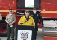 Soledad Fire Press Conference — July 5, 2020, 8 p.m.