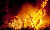 Lake Fire: Day 1 Night Photos