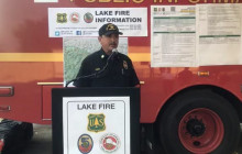 Lake Fire 6 P.M. Press Conference 8/17/2020