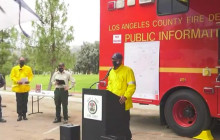 Lake Fire Press Conference 8/13/2020