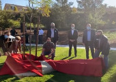 California Scape Public Art Unveiling Ceremony