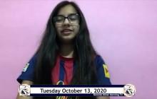 Miner Morning TV Remote Show, 10-13-2020