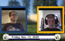 Miner Morning TV Remote Show, 11-13-2020