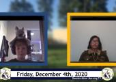 Miner Morning TV Remote Show, 12-4-2020