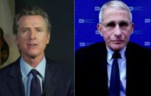 Gov. Gavin Newsom Talk with Dr. Fauci