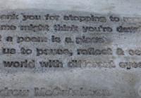 2020 Sidewalk Poetry Contest: Andy McCutcheon's Poem