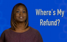 IRS – When Will I Get My Refund?