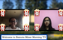 Miner Morning TV Remote Show, 1-19-2021