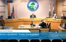 Santa Clarita City Council Meeting from Tuesday, February 9th, 2021