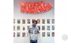 Finding Art From Home: Kumasi J. Barnett at COC's Art Gallery