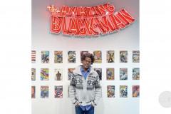 Finding Art From Home: Kumasi J. Barnett at COC's Art Gallery