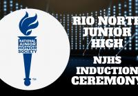 NJHS Induction Ceremony | Rio Norte JHS 2021