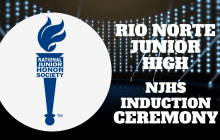 NJHS Induction Ceremony | Rio Norte JHS 2021