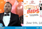 "Santa Clarita Valley Boys & Girls Club –  2021 Auction ""Bubbles and Bids"""