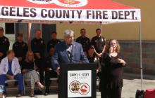 Santa Clarita | Fireworks Press Conference at Fire Station 126