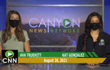 Canyon News Network | August 26th, 2021