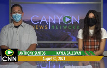 Canyon News Network | August 30th, 2021