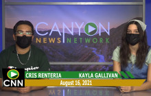 Canyon News Network   August 16th, 2021