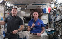 Expedition 65 – Education Inflight Event with Hart District Students