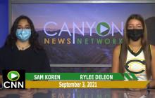 Canyon News Network   September 3rd, 2021