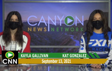 Canyon News Network | September 13th, 2021